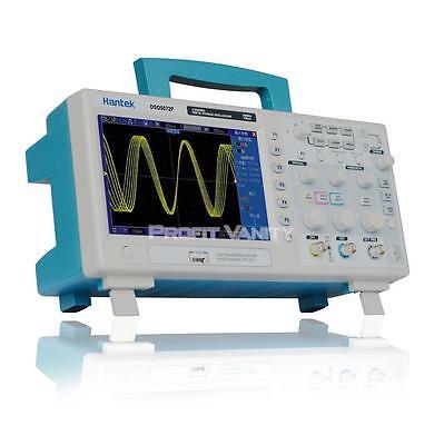 "DE!Hantek DSO5072P Digital Oszilloskop Oscilloscope 7"" TFT WVGA 70MHz 1GSa/s 2CH"