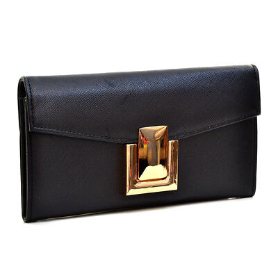 Dasein Women Classic Purse Leather Wallet Bag Cover w/ Credit Card Slots