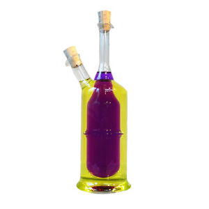Vinagre-y-aceite-Botella-Con-Corcho-2-en-1-Cristal-amp