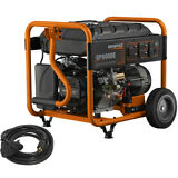 Generac 6931 8000W Electric Start Portable Generator 50 State CARB +20' Cord