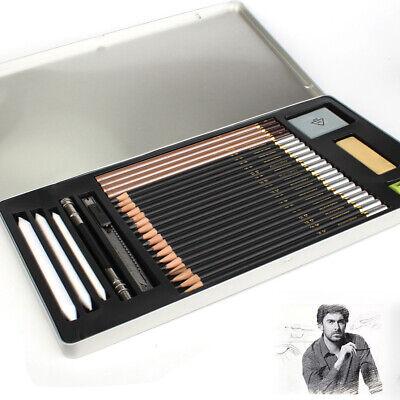 29 Piece Sketch & Drawing Pencils - Best For School Art & Craft Supplies Set,