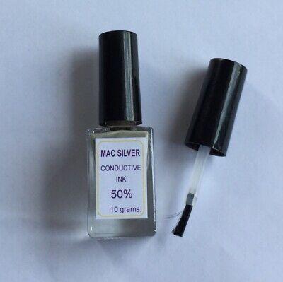 Silver Conductive Ink Paste Wire Glue Pcb Membrane Conductive Paint 10 Grams