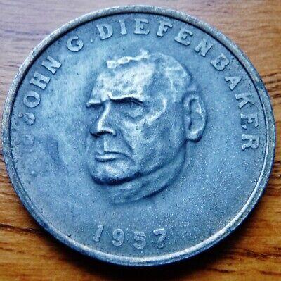 Diefenbaker Prime Minister of Canada Medal
