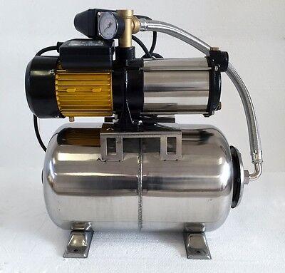 Hauswasserwerk megafixx S5-24ES 1100 Watt - Edelstahl Druckkessel 24 L