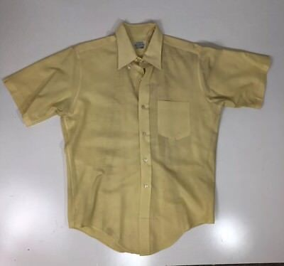 Vintage 50S 60S Brent Mens Hipster Pennys Shirt Sanforized Plus 2 Rockabilly