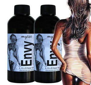 ORGANIC 13% DHA MYTAN ENVY SPRAY TAN TANNING SUNLESS SOLUTION 400MLS INC POST