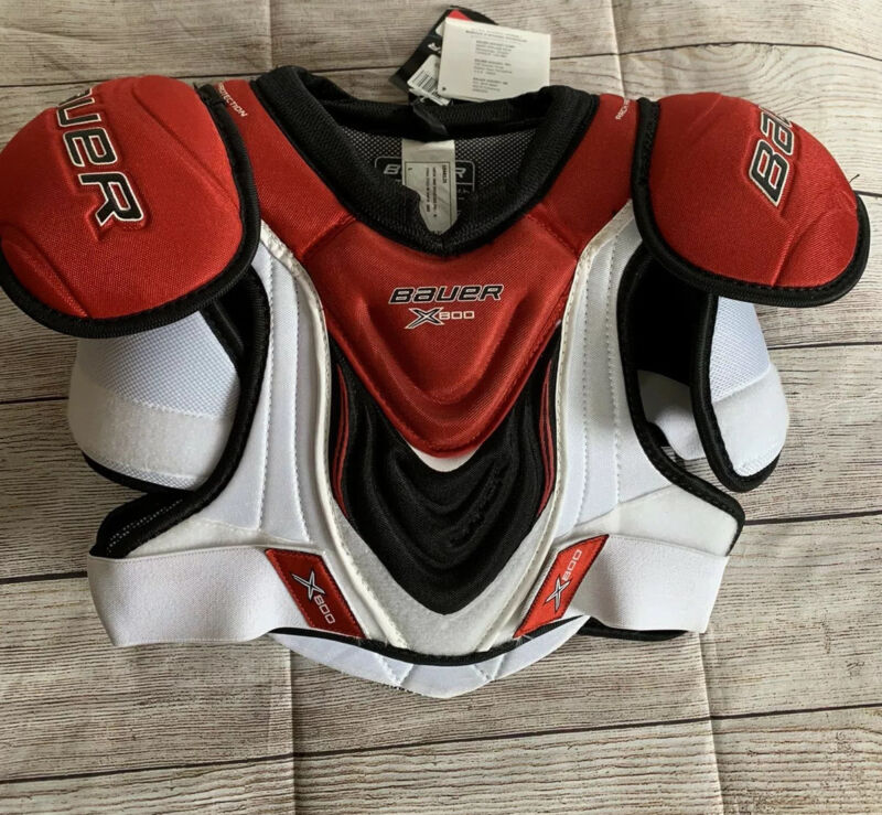 Bauer Vapor X800 Hockey Shoulder Pads Junior Large L NWT NEW Youth