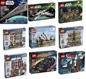 Xmas Sale- New Lego from$350-10218,10211,10197,10221,70810, more