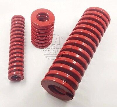 OD 25mm ID 12.5mm Medium Load Red Mould Die Spring Select Variations