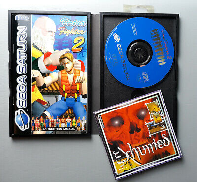 SEGA SATURN Virtua Fighter 2 PAL & SECAM FRENCH NOS BOXED