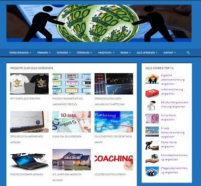 Webprojekt mit 50 Partnerprogrammen und hohen Provisionen - Existenzgründung!