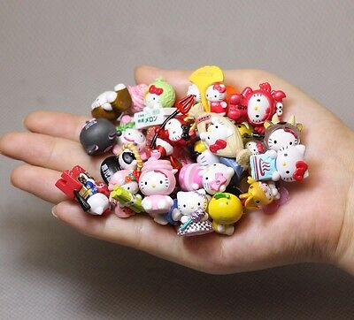 20Pc Random Mini Doesnt Repeat Hello Kitty Anime Action Figure Collection Toys