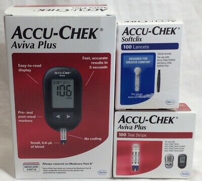 Accu-Chek Aviva Plus, Test Strips And