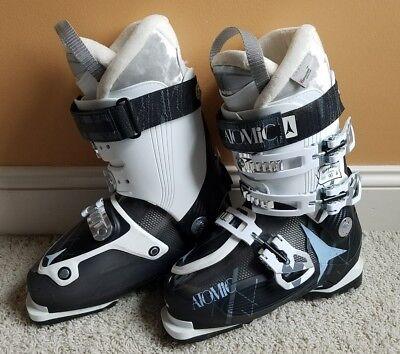 Atomic Waymaker Carbon 90 Ski Boots Women's/Girl's Size 24.5 / 6.5 (EUC) Atomic Womens Ski Boots