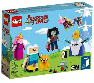 Rare LEGO Ideas Adventure Time 21308 Brand New
