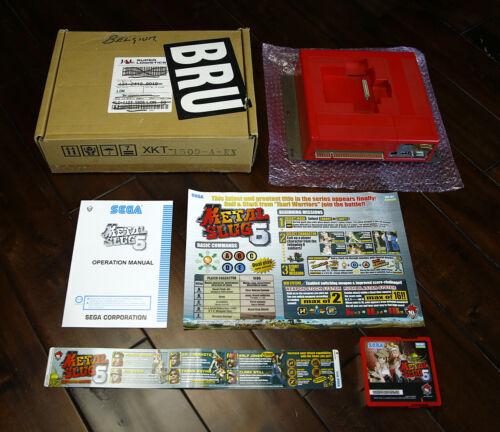 Metal Slug 6 English US Kit • Sammy/Sega Atomiswave Arcade JAMMA Neo Geo • SNK