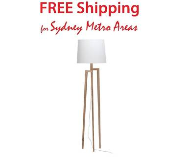 Clearance sale tripod floor lamp