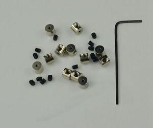 12 Pin Keepers Pin backs Pin Locks Locking Pin Backs FAST USA SHIPPING