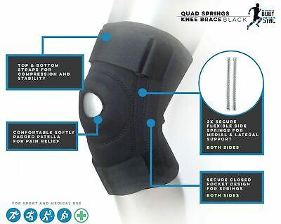 Knee Brace Support Neoprene Patella stabilising Knee Belt Adjustable Strap NHS U