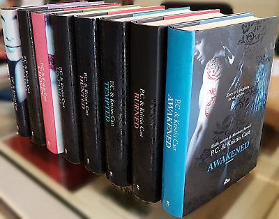 P.C. & Kristin Cast, Ciclo 'Casa della Notte' (primi 8 romanzi), Ed. Nord