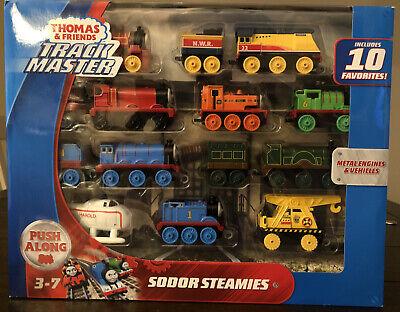Thomas & Friends TrackMaster Sodor Steamies Train Engines Set ~NEW