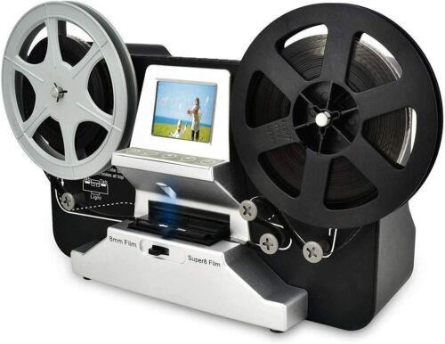 8mm & Super 8 Reels to Digital Movie Maker Film Scanner Converter