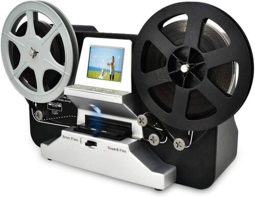 Digital MovieMaker Film Sanner Converter 8mm & Super 8 Reels to Reels