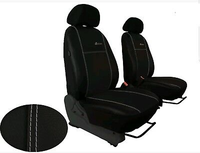LAND ROVER FREELANDER MK2 1+1 FROT SEATS LEATHER&ALICANTE TAILORED SEAT COVERS