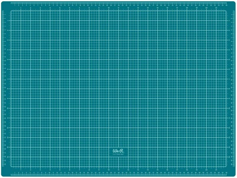 WE R MEMORY KEEPERS 660655 WE R MEMORY CRAFT SURFACE CUTTING MAT 18X24