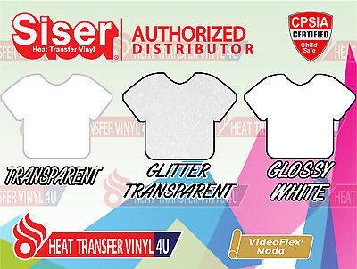 Siser Videoflex Moda Heat Transfer Vinyl 15 X 12 1 Foot Select Your Colors