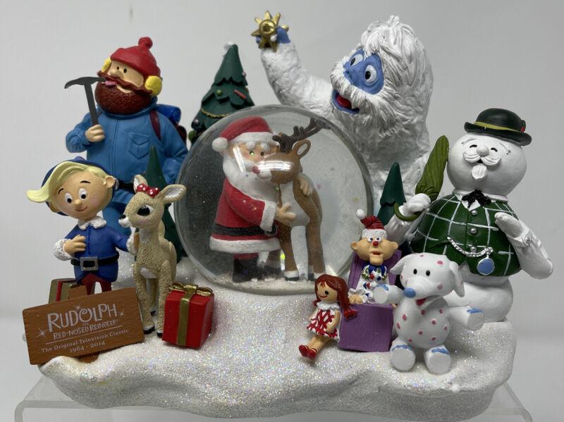 Hallmark Rudolph Rudolph The Red-Nosed Reindeer Snow Globe Salesman Sample W/Box