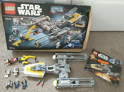 LEGO Star Wars Y-Wing Starfighter (75172) With Box, Instructions & Mini-figures