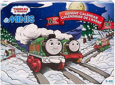 Thomas Friends MINIS 2018 Holiday Advent Calendar Kids Vehicle Playset Fun Toy