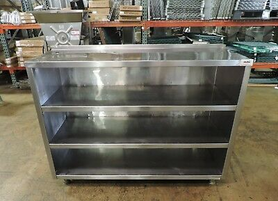 Commercial Stainless Steel 3 Shelf Cabinet