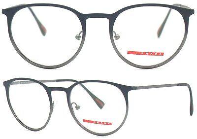 Prada Linea Rossa Damen Herren Brillenfassung PS50HV U6U-1O1 50mm grau 448 61