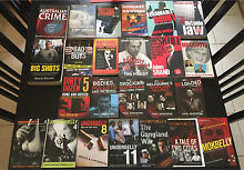 24 True Crime books mostly Australian Rowville Knox Area Preview