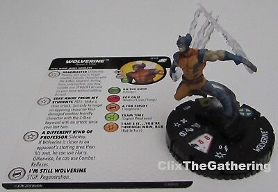 WOLVERINE 053 X-Men Xavier's School Marvel HeroClix Super Rare headmaster