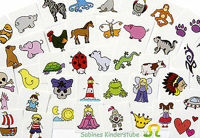 EDUPLAY  KiGa  Tattoo - Set  50 St.  Kinder Tattoos  NEU