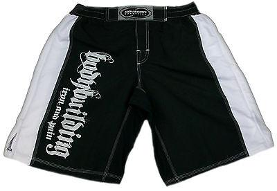 Black/white Printed Bodybuilding Shorts Workout Gym Clothing C-19