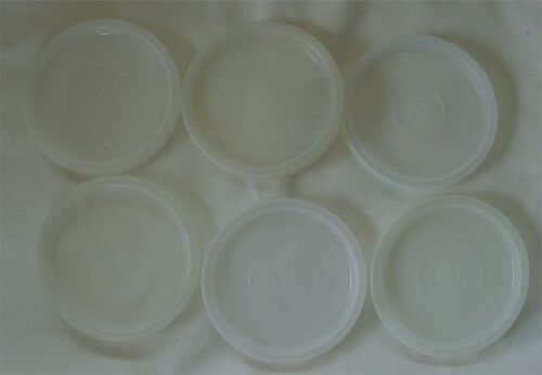 Lot of 6 Tupperware 297 Sheer Replacement Lids I have quantity same size