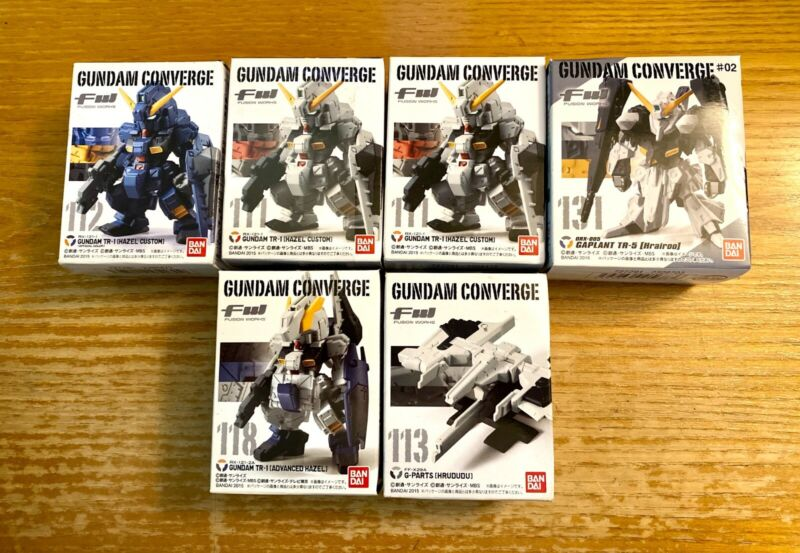*NEW* BANDAI FW Gundam Converge Advance of Zeta Lot of 6 Hazel