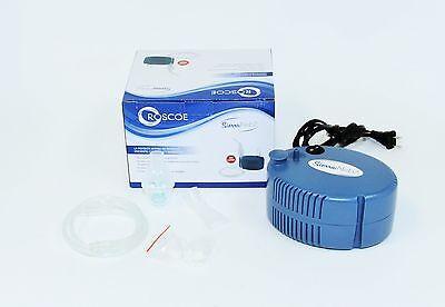 Roscoe Sierra Compressor Nebulizer Aerosol Asthma Copd Allergies Adult Therapy