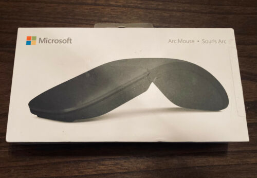 Microsoft Surface Arc Wireless Touch Mouse Black (ELG-00001)