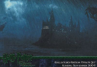 Harry Potter Prisoner of Azkaban Update 4 Card Green Foil Promo Set