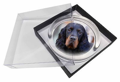 Gordon Setter Dog Glass Paperweight in Gift Box Christmas Present, AD-GOR2PW
