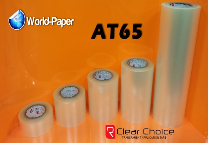 "RTape Clear Choice AT65 General Purpose High Tack Application Tape 6"" x 300Ft :)"