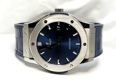 2020 HUBLOT Classic Fusion - Blue - 511.NX.7170.LR - UNWORN - Box and Papers