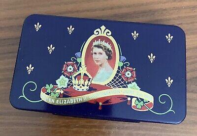 queen elizabeth coronation tin