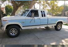 1984 Amazing Ford F250 XLT • 6.9L Turbo Diesel • Extended Cab Diddillibah Maroochydore Area Preview
