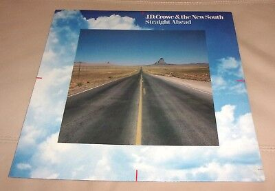 J.D. Crowe : & the New South Straight Ahead Sealed LP (Bluegrass)